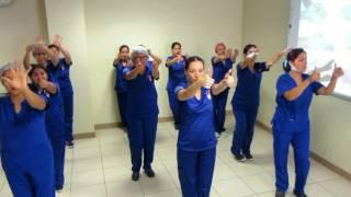 Higiene de Manos UCI Cardiovascular INSN San Borja