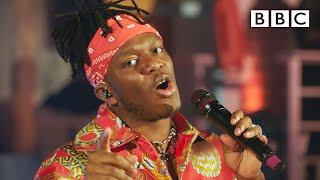 KSI performs 'Holiday' - BBC