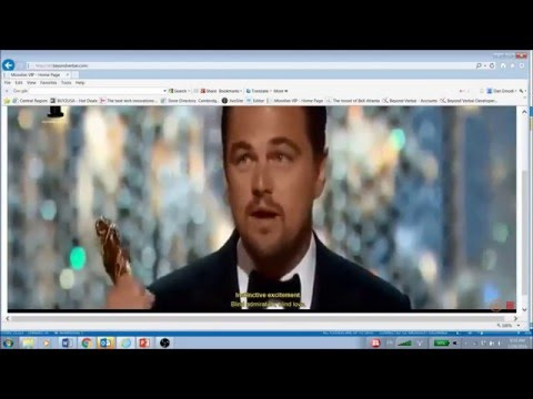 Leonardo Dicaprio emotions when he  wins the Oscar