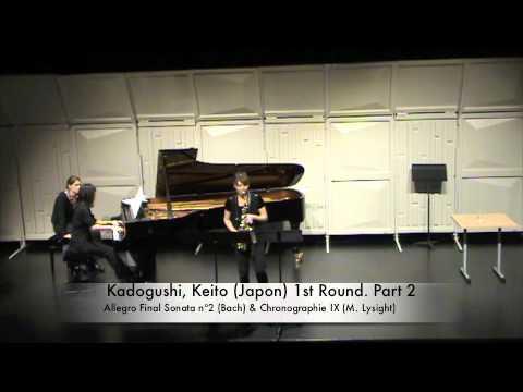 Kadogushi, Keito Japon 1st Round Part 2