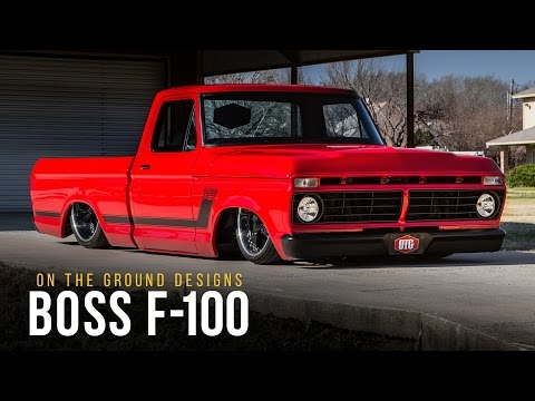 Boss F-100 | On The Ground Designs