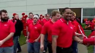 'Pitt State Football Team Sendoff and Arrival!