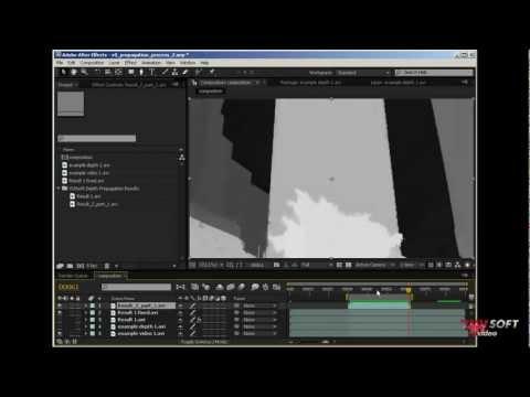 Depth Propagation 2D to 3D conversion