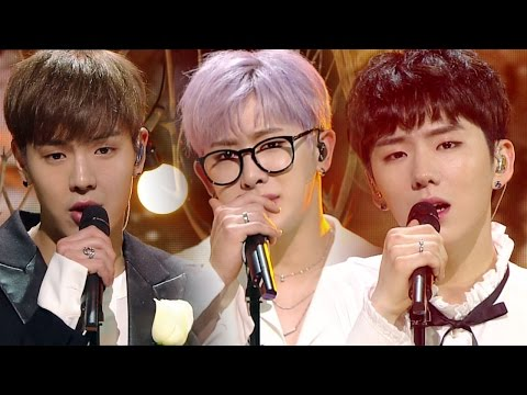 《EMOTIONAL》 MONSTA X (몬스타엑스) - Beautiful (Acoustic ver) (아름다워) @인기가요 Inkigayo 20170507