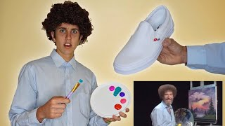 Following a Bob Ross Tutorial on SHOES!