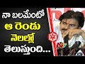 Pawan Kalyan about his Strength and Capability : Janasena Press meet