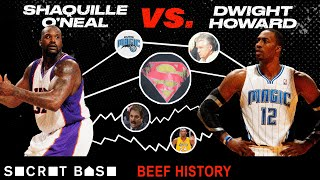 Shaq started beefing with Dwight Howard over who deserved the title of Superman...and never stopped