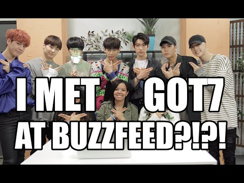 I MET GOT7 AT BUZZFEED?!?! | STORYTIME