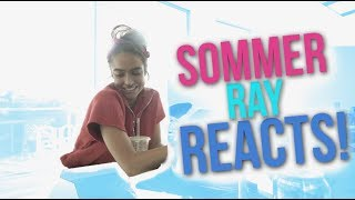 Sommer Ray Reacts to People Reacting to Sommer Ray??? - Reaction Video!!