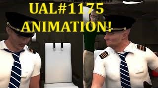 UAL #1175 B-777-200 Fan Blade Out Animation