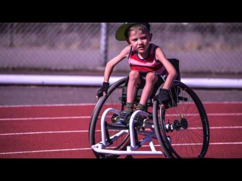 A Special Message For Wheelchair Racer Nathan Dewitt