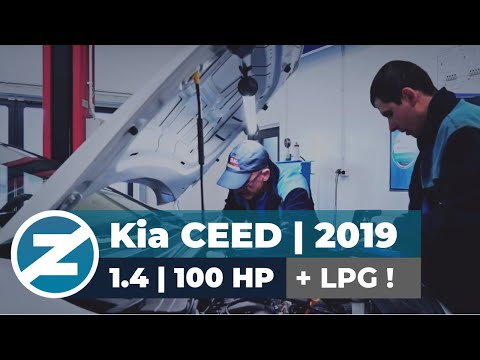 ZENIT | Kia Ceed | 1.4 DOHC | 100 HP | 134 NM | 2019 | instalacja LPG