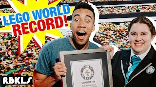 World's longest LEGO Walk! Record BROKEN! - REBRICKULOUS