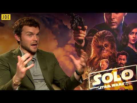Alden Ehrenreich AKA Han Solo does the best Chewbacca impression!