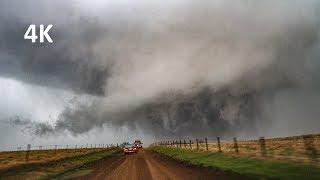 (4K) Violent Tornado - Culver, Kansas