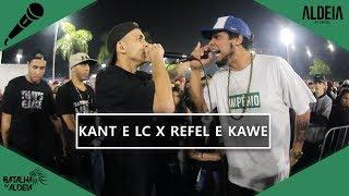 Kant e LC x Refel e Kawe | SEMIFINAL  | 106ª Batalha da Aldeia | Barueri | SP