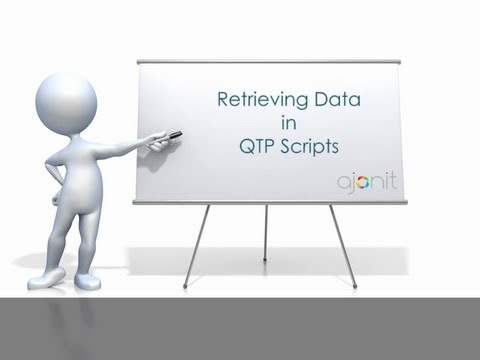 Ways of Retrieving Data in QTP