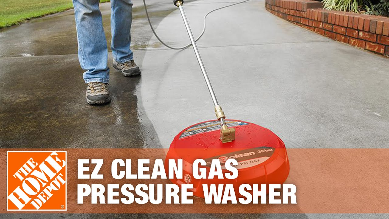 Ez Clean Gas Pressure Washer Surface Cleaner Attachment