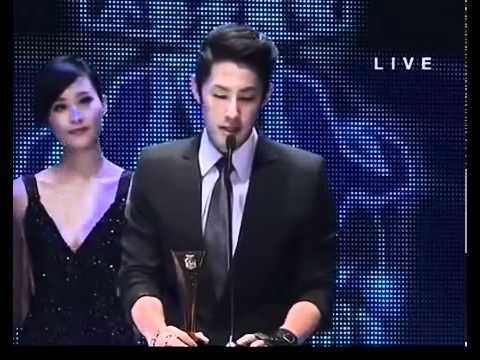 vanness wu in 16th channel v best male cross over performer taiwan HK - 13/4/2012