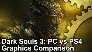 Dark Souls III - PC vs PS4 Graphics Comparison