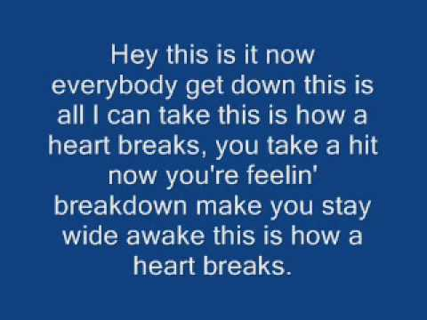 This is how a heart breaks - Rob Thomas (With Lyrics)