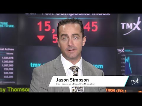 Video: View from the C-Suite: Jason Simpson, President and Chief Executive Officer, Orla Mining Ltd., tells his company's story.