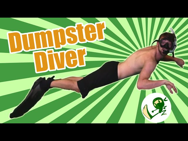 Dumpsta Diva: Take the plunge!