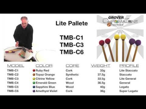 Grover Pro ChromaTone Seamless Timpani Mallets
