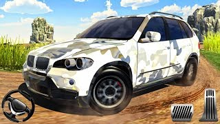 US jeep army SUV offroad mountain - driving 4x4 cars game | android gameplay