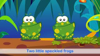 Five Little Speckled Frogs Song For ESL Students & Children