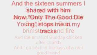 Kenny Chesney - I Go Back (lyrics)