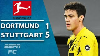 Gio Reyna scores exquisite goal but Dortmund HUMILIATED by Stuttgart | ESPN FC Bundesliga Highlights