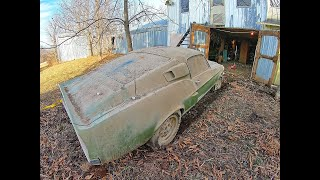 Watch Us Restore & Drive This 1967 Shelby GT-500 Mustang Barn Find - And Add Up Dollars Spent