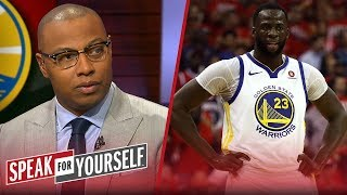 Caron Butler weighs in on Draymond Green's future with the Warriors | NBA | SPEAK FOR YOURSELF