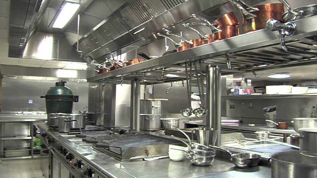 Commercial Stainless Steen Kitchen Set Ups
