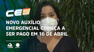 Novo auxílio emergencial começa a ser pago em 16 de abril a beneficiários do Bolsa Família