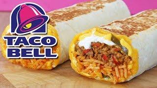 Taco Bell 🔥 Cheddar Jalapeño Quesarito 🔥 Review