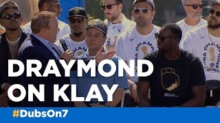 Draymond Green on Klay Thompson 'He doesn't talk much at all'