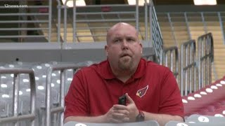 Arizona Cardinals GM returns to the team
