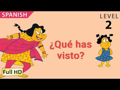 "What did you see: Learn Spanish with subtitles - Story for Children ""BookBox.com"""