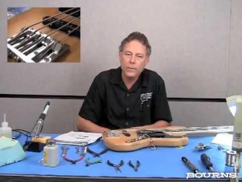 Bourns Blend-Balance Bass Guitar Application