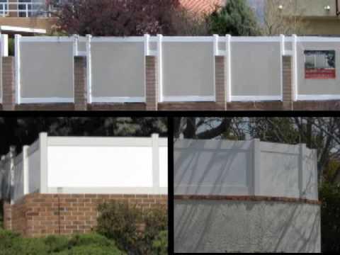 Southwest Vinyl Block Wall Topper Extension Tv