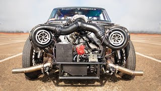 Daddy Dave reveals Goliath's NEW twin-turbo setup!