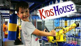 KIDSHOUSE Детский Развлекательный Центр с Горками и Батутами / Братислава