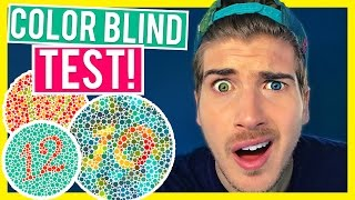 AM I COLOR BLIND?