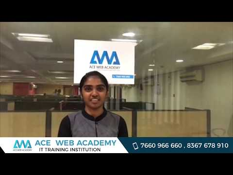 Full Stack Web Development Course Review by Ace Web Academy Student Pravalllika