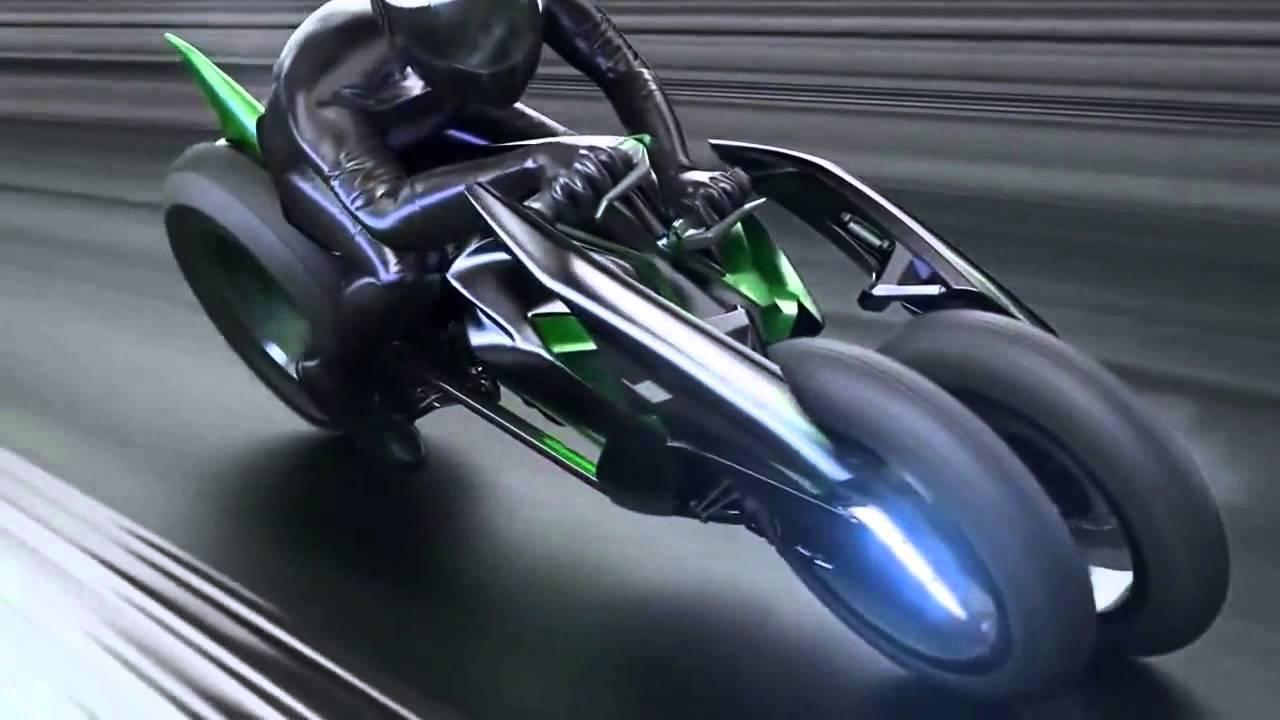 Kawasaki Quot J Quot Concept Electric Motorcycle 2013 Tokyo