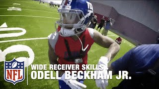 Odell Beckham Jr. GoPro Footage    How to Make the Perfect Catch   NFL