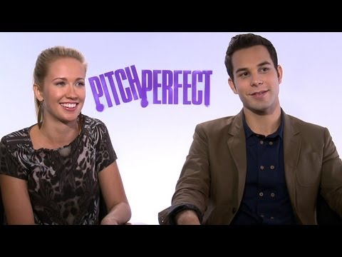'Pitch Perfect' Anna Camp and Skylar Astin Interview