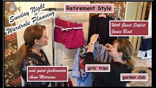 Retirement Style | What to Wear | Wardrobe Planning